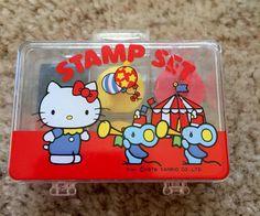 1976 hello kitty stamp set
