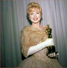 "Shirley Jones takes home the Oscar for Best Supporting Actress for her role in ""Elmer Gantry"", 1961."