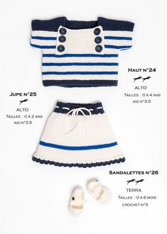 904601a370eaf Modèle Jupe-enfant CB24-25 – Patron tricot gratuit