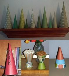 It's simple to roll paper into a cone but what if you want to make a cone that's a specific radius and height? What if you want the base to ...