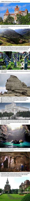 Beautiful places in Romania