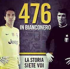 Buffon e Zoff... la Storia della Juventus