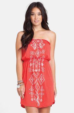 Billabong 'Set Me Free' Geometric Print Dress (Juniors) available at #Nordstrom