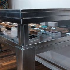 Olive & Iron Display Cases by Darin Wicks