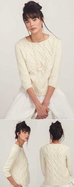 Вязаный пуловер Janus | ДОМОСЕДКА