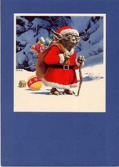 Les cartes de voeux de Noël Star Wars de LucasFilm carte voeux lucasfilm star wars noel 05