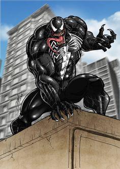 Venom of Spiderman 3 by Ronniesolano