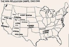 """Japanese War Relocation Camps, 1942-46. The War Relocation Authority (WRA) was the U.S. civilian agency responsible for relocation and detention. The WRA was created by President Roosevelt on March 18, 1942 with Executive Order 9102 and officially ceased to exist June 30, 1946. By October, 1942, the WRA had opened 10 camps in 7 states, and transferred over 100,000 people from temporary """"assembly centers"""" to concentration camps expected to house Japanese-Americans for the duration of the war."""