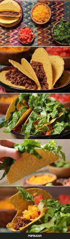 A beef taco you can get out on the table in no time. | PopSugar