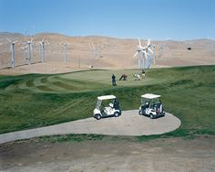 Mitch Epstein, Altamont Pass Wind Farm Ansel Adams Photography, Golf Photography, Urban Photography, Contemporary Photography, Vintage Photography, Colour Photography, Black And White Landscape, Landscape Photographers, Cool Photos