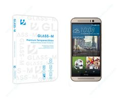 GLASS-M for HTC M9 Glass Protector, Tempered Glass Screen Protector, Mobiles, Mobile Phones