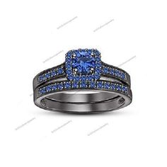 Wedding Spl 1.20ct Sapphire Over 925 Silver With 14k B/Gold Plating For Women's  #BR925