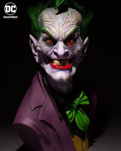 2018 Pre-order Dc Comics Joker Life Size Rick Baker Bust Pre-orders by Dc