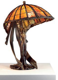 Mobiliário Art Nouveau, Art Nouveau Design, Design Art, Lampe Art Deco, Jugendstil Design, Art Nouveau Furniture, Tiffany Art, Art Deco Lighting, Unique Lighting