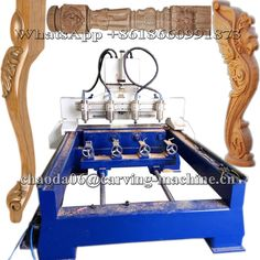 Check out this product on Alibaba.com App:Cheap JCW1325R-4H 4 Axis 4 Head Rotary 3D CNC Wood Carving Machine, CNC Router https://m.alibaba.com/product/60547808305/Cheap-JCW1325R-4H-4-Axis-4.html