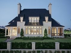 My dream home. The interior is amazing. The quality is unbelievable. I will live in this home. 34 East Shore Drive, The Woodlands TX - Trulia Architecture Design, English Architecture, Design Rustique, House Goals, My Dream Home, Exterior Design, Future House, Modern Farmhouse, Luxury Homes
