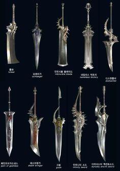 Big sword design