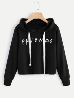 Kawaii BTS Album Love Yourself Crop Tops hoodie Fake Love Kpop Long Sleeve Cropped Hoodies Sweatshirt Women Cat Hooded Pullover Komplette Outfits, Teen Fashion Outfits, Cool Outfits, Casual Outfits, Women's Casual, Dress Fashion, Women's Fashion, Fashion Women, Fashion Design