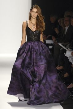 Gorgeous purple on the runway #pinmyencore