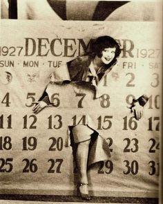 Clara Bow~ New Years 1928...
