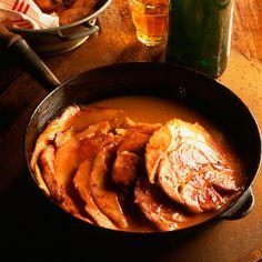 Jambon braisé au cidre de Normandie