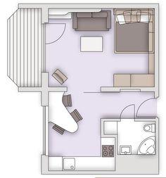 Сайт о дизайне маленькой квартиры