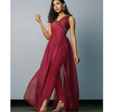 Indian Suits, Indian Dresses, Churidhar Designs, Indian Designer Sarees, Embroidery Suits Design, Kurti Designs Party Wear, Lehenga Saree, Silk Pants, Formal Dresses