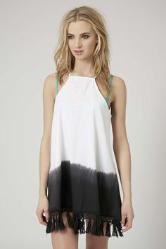 Photo 3 of Crochet Tassel Dip-Dye Dress