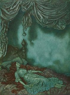 Edmund Dulac. Sleeping Beauty