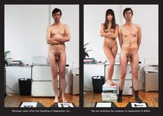 """""""We will do anything for design""""  --  http://www.nfgraphics.com/stefan-sagmeister-se-asocia-con-jessica-walsh/#"""