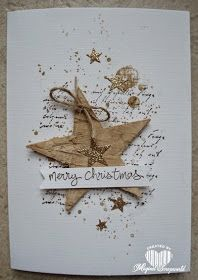 Magical Scrapworld: Merry Christmas houten ster