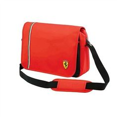 3df8f1b644d Ferrari Messenger Bag - Red Ferrari, Travel Luggage, Purses And Bags,  Motorcycle Jacket