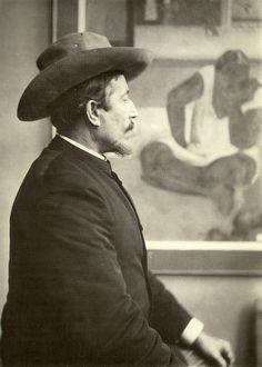 artistandstudio: French Post Impressionist painter Paul Gauguin