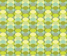 Overlap - Green via MuralsYourWay.com for stair raisers?