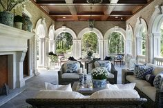 New Manor, Classic Style - Mill Neck - traditional - Patio - New York - MJW Architects