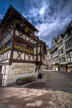Maison des Tanneurs, Strasbourg, Alsace, France - Beautiful town, great food, excellent for walking and taking photos!