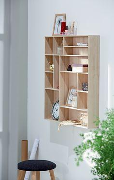ILBRO vegghylle, krakk, detaljer | Nordic Bohem | Skandinaviske hjem, nordisk design, Skandinavisk design, nordiske hjem, soverom, lyst soverom | JYSK