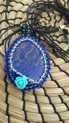 Cibulka / Vintage Lapis Lazuli, Mineral, Projects To Try, Vintage, Jewelry, Jewlery, Jewerly, Schmuck, Jewels