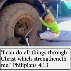 Philipians 4:13 / BIBLE IN MY LANGUAGE