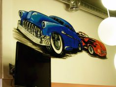 mural artisitco restaurante