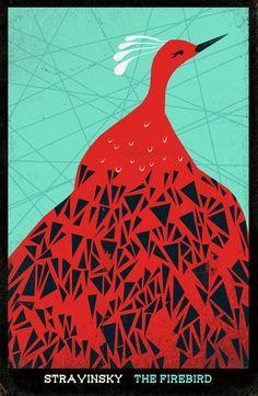 The Firebird Art Print by Andrea Lauren   Society6