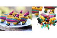 Sorprende con estas galletas piñata   Informe21.com #Food #Comida #Receta