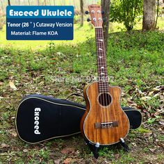 ==> [Free Shipping] Buy Best 26 inch Tenor Ukulele excellent sound Handcraft KOA Mini Guitar Cutaway Hawaii China guitarra music instrument ukelele promotion Online with LOWEST Price | 1461961455