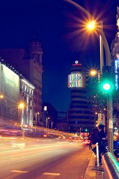 Madrid. City lights #onixnoir