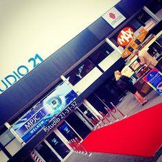 De entree van het #MediaparkJaarcongres #Studio21 #Mediapark #Hilversum #mpjc2014 #iMMovator