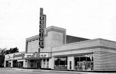 Esquire Theater, Amarillo, TX. Went here every Friday night. I lived across the street (far right) in the late 1970s. I watched them tear it down for a big, ugly office building. I heard the chandelier crash to the floor when the roof caved in from the wrecking ball.