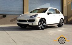 "22"" Satin Black Machined Stuttgart Porsche Cayenne S GTS 3.6 Turbo Wheels Rims   eBay"