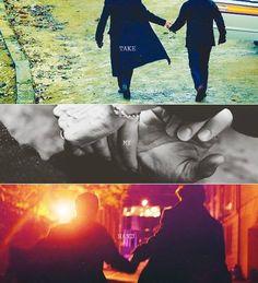 Take my hand... Sherlock, Johnlock