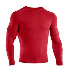Deportes de compresión ciclismo capa de base térmica debajo de la camisa