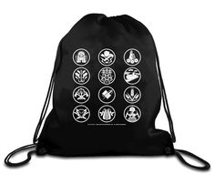 Exhibition Store | Panem Districts Drawstring Backpack - Panem & Districts - Collections The Hunger Games